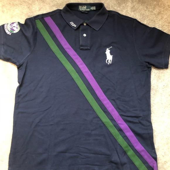 Ralph Lauren polo shirt Wimbledon 125th ed